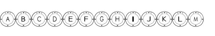 Tableware Font Font UPPERCASE