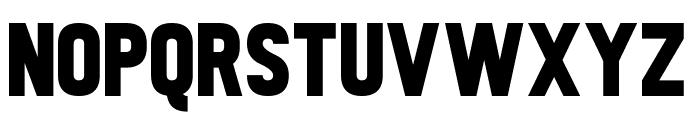 Tabloid Scuzzball Font UPPERCASE