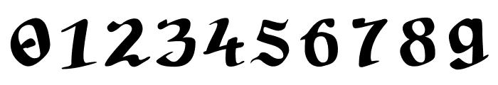 Tabula Peutingeriana Font OTHER CHARS