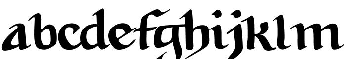 Tabula Peutingeriana Font LOWERCASE