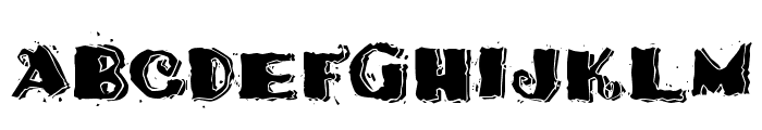 Taco Modern Font UPPERCASE