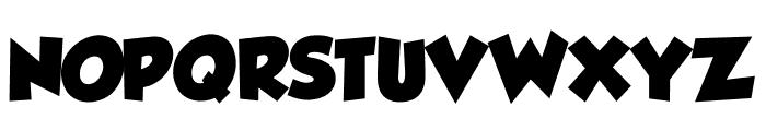 Tadeo Font Bold Font UPPERCASE