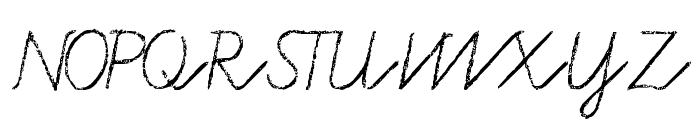 Tafelschrift Font UPPERCASE