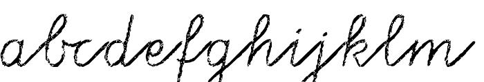 Tafelschrift Font LOWERCASE