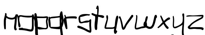 TagHandGraffitiTrash Font LOWERCASE