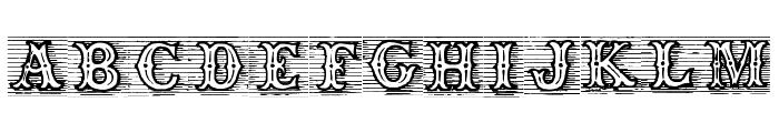 TagWood Font UPPERCASE