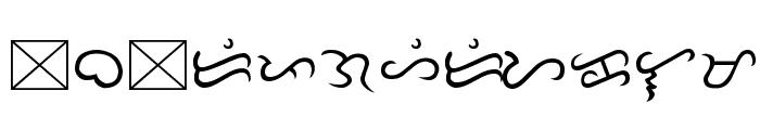 Tagalog Doctrina 1593 Font LOWERCASE