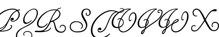 Tagettes Font UPPERCASE