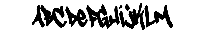 Tagster Font LOWERCASE