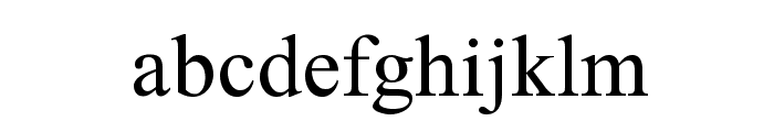 Tahrir Old Font LOWERCASE