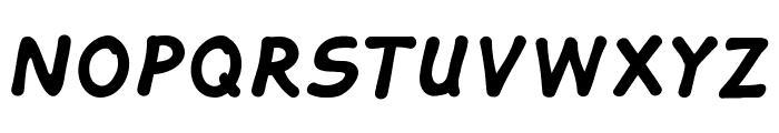 Tahtelbahir komik Regular Font UPPERCASE