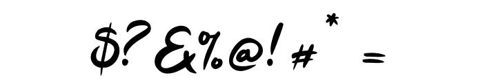 Tahu! Font OTHER CHARS