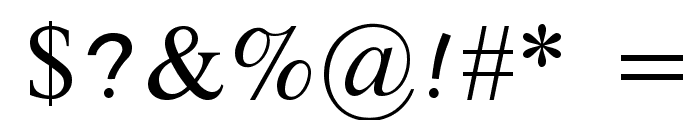 Tai Heritage Pro Font OTHER CHARS