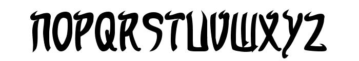 Taibaijan Bold Font UPPERCASE