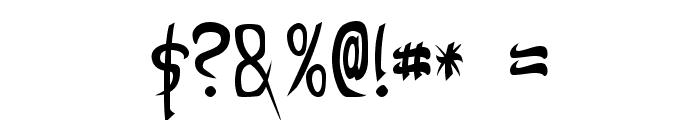 Taibaijan Font OTHER CHARS