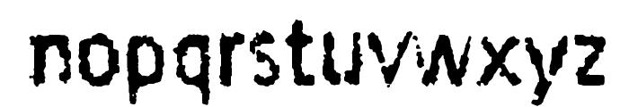 Taigatrust Font UPPERCASE
