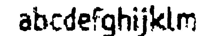 Taigatrust Font LOWERCASE