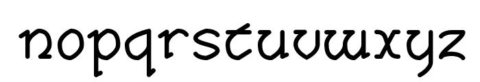 Taisean Font LOWERCASE