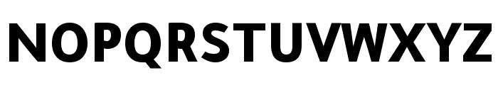 Tajawal Black Font UPPERCASE