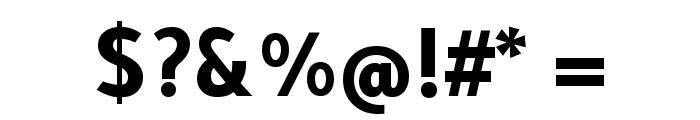 Tajawal-Bold Font OTHER CHARS