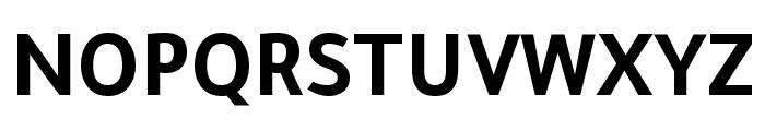 Tajawal-Bold Font UPPERCASE