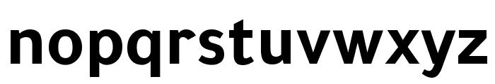 Tajawal-Bold Font LOWERCASE