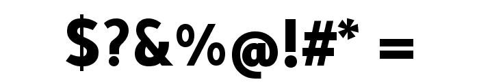 Tajawal ExtraBold Font OTHER CHARS