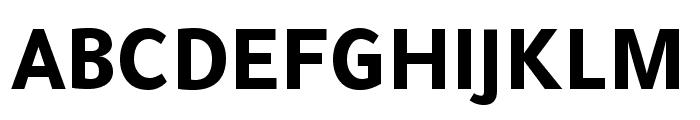 Tajawal ExtraBold Font UPPERCASE