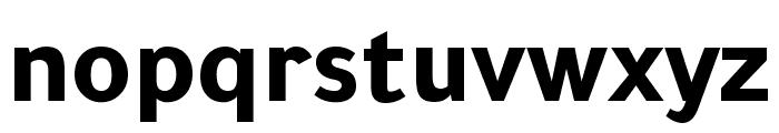 Tajawal ExtraBold Font LOWERCASE