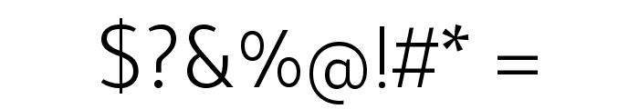 Tajawal Light Font OTHER CHARS