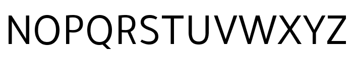 Tajawal Font UPPERCASE
