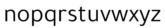 Tajawal Font LOWERCASE