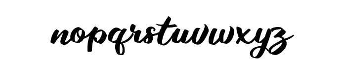 Takashi Minta Font LOWERCASE
