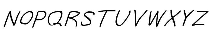 Take Off, Moose Font UPPERCASE