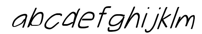 Take Off, Moose Font LOWERCASE