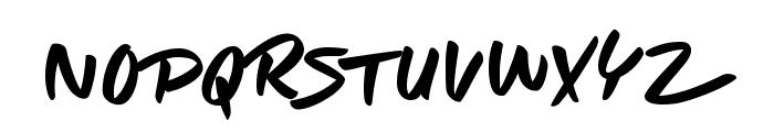 Take it Easy Font UPPERCASE