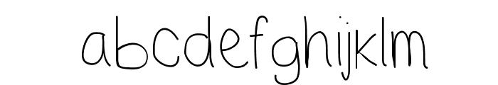 TakeMeOut Font LOWERCASE