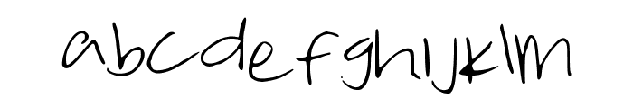 TakeMeTuesday Font LOWERCASE