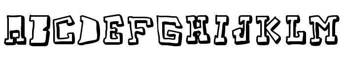 TakeTwo Font LOWERCASE