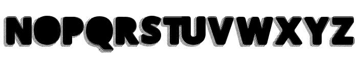 TakenBlack Font UPPERCASE