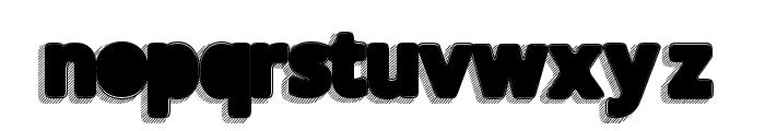 TakenBlack Font LOWERCASE