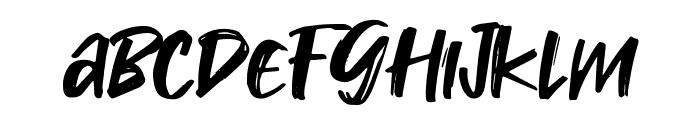 Takota Font LOWERCASE