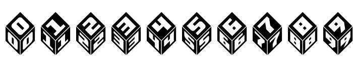 Takraf-3d Font OTHER CHARS