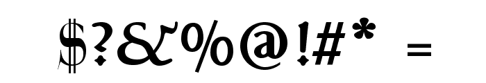 Talapanna Bold Font OTHER CHARS