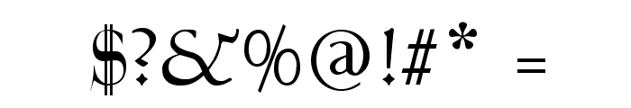 Talapanna Font OTHER CHARS