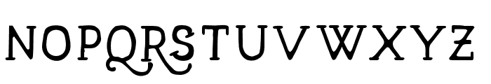 TalismanFree Font UPPERCASE