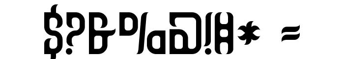 Talismanica Font OTHER CHARS