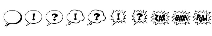 Talk Regular Font OTHER CHARS