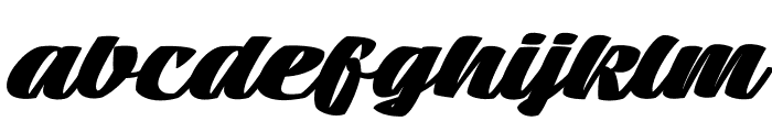 Tall Casat Fat PERSONAL USE Font LOWERCASE
