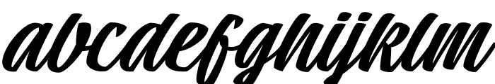 Tall Casat Med PERSONAL USE Font LOWERCASE